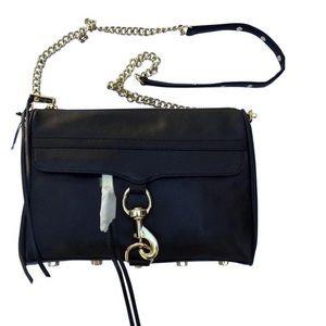 Rebecca Minkoff mac Top Zip Leather crossbody Bag